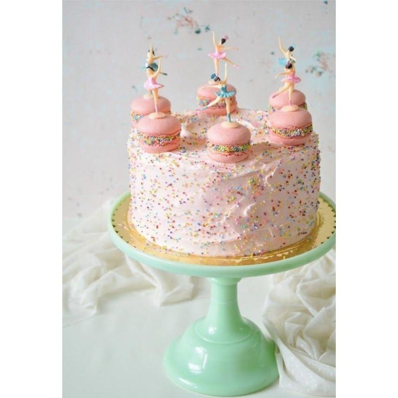 ballerina taart decoratie popjes