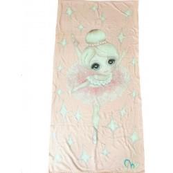 ballerina beach towel