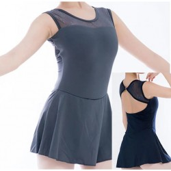Short dance dress grey or blue
