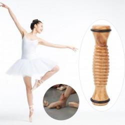 ballet voetmassage roller in hout