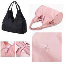 black or pink dance bag...