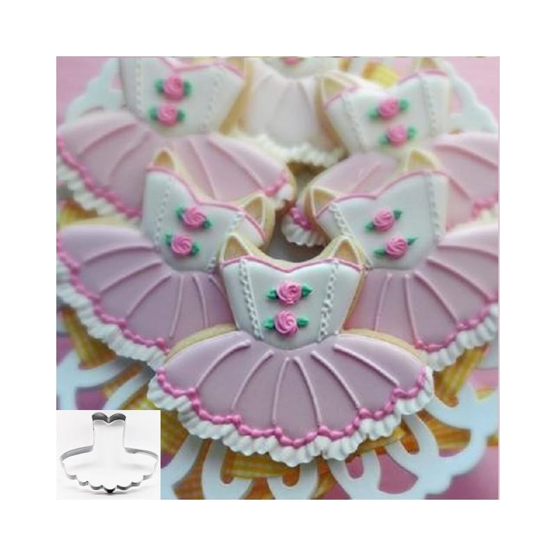 ballerina koekjesvorm tutu