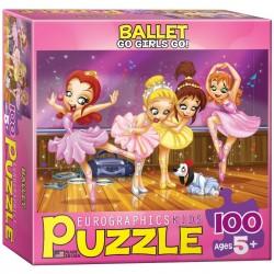 ballet puzzel 100 stuks