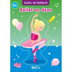 prikblok kleurblok ballet
