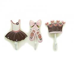 ballerina coat rack 3 piece