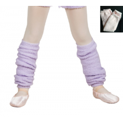 Ultra soft leg warmer lilac...
