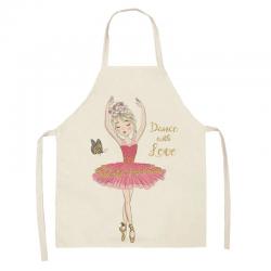 ballerina keukenschort voor kinderen