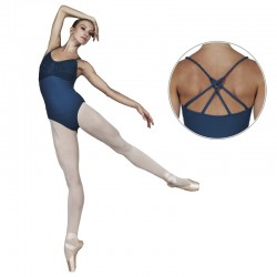 Turkoise balletpak Sansha Talicia spaghettibretel turkoise