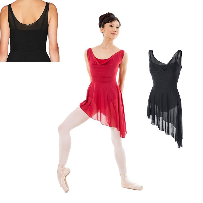 balletjurk KH Martin asymmetrisch zwart