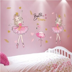 ballerina decoratie sticker...