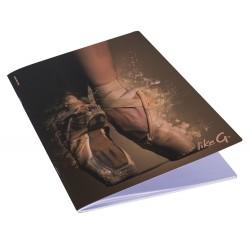 Like G gelijnd A4 schrift notitieboek ballet