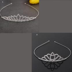 zilveren kroontje tiara