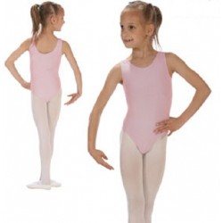 Rose balletpak zonder mouw