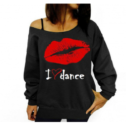 dans sweater trui I love dance