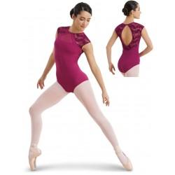 kanten balletpak halve mouw