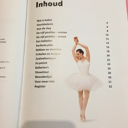 boek over ballet