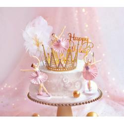 ballerina beeld taart