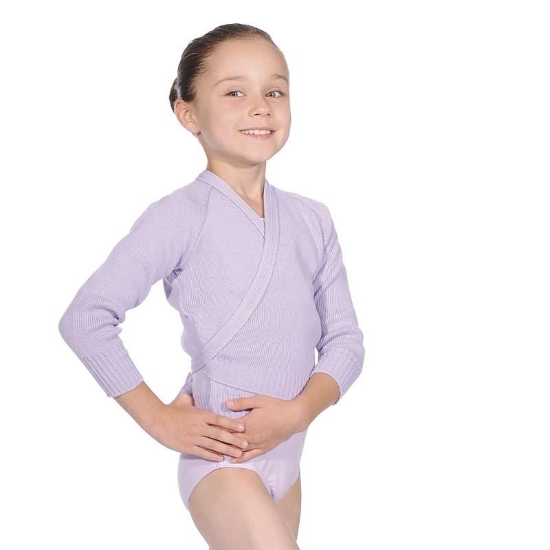 ballet wikkeltrui lila