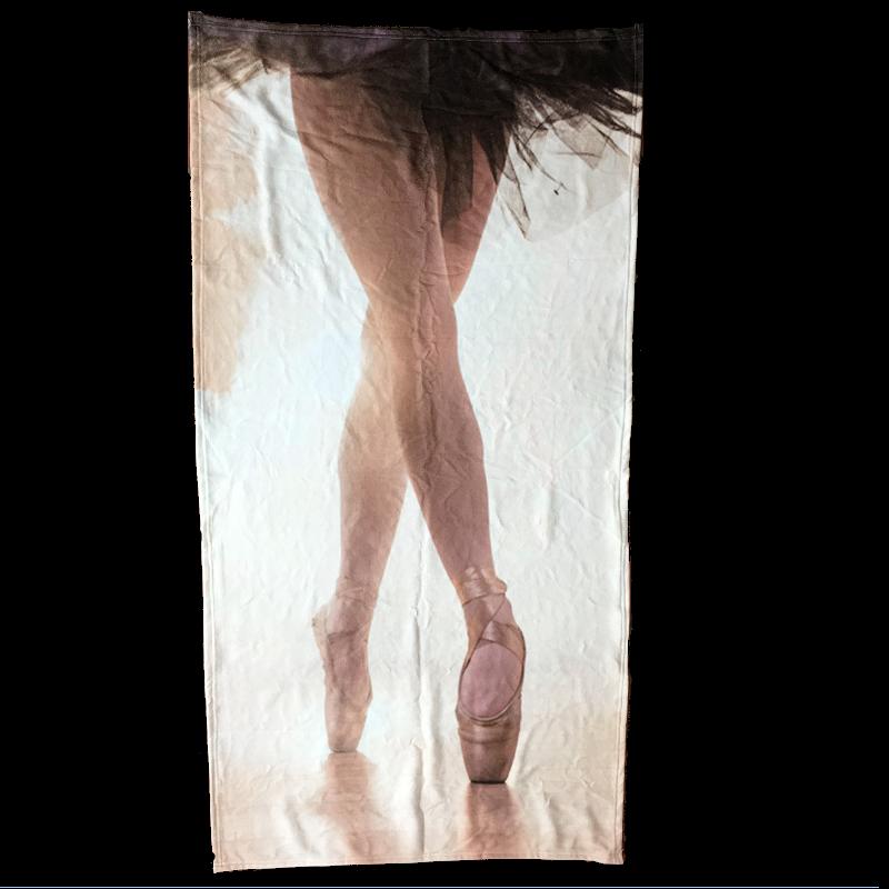 handdoek strandlaken ballerina