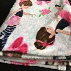 fleece deken ballerina